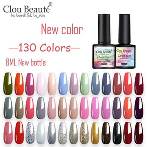 Clou Beaute New Bottle 130 Colors Polish Nail Gel 8 ML UV Varnish Paint Semi Permanent Nails Art Gel Lakiery Hybrydowe Lacquer