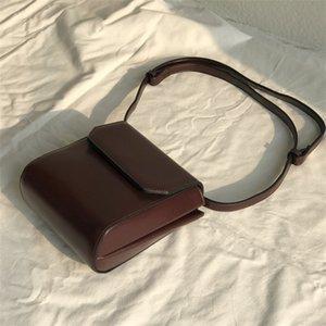 CHISPAULO signore coreane di stile Piccolo Flap Bag solido di colore semplice Joker Crossbody Borse per le donne sacchetto del telefono