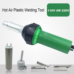 EMS DHL Fast shipping! TOPLINK 220V 1600W Plastic Welder Hot Air Gun ,Welding Heat Gun rod Gas Vinyl Welding Equipment