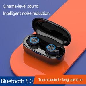 Bluetooth V5.0 наушники TWS Headsets Wireless Earhone Hifi стереоактивные наушники в ухе