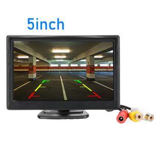 Parkplatz-Monitor HD Video Auto, LED-Nachtsicht Rückfahr CCD Rückfahrkamera mit 4,3-Zoll-Auto-Rückspiegel-Monitore