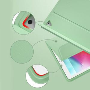 Custodia in pelle per Besegad 10.2inch staccabile Ipad Pu di Apple con la fessura di uscita Bluetooth matita tastiera Copertura Wireless 2019 bdeclothes vMPSw