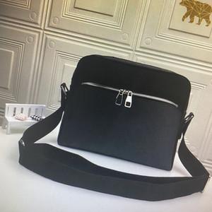 Real Leathe Mick Messenger Bag Herren Crossbody Taschen Set Mode Leder Mann Umhängetaschen Computer Dokumenttasche Kupplung Geldbörse N40003