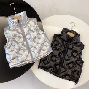 cabritos del estilo de la moda del chaleco mantener el calor nuevas chicas niños niño chaleco
