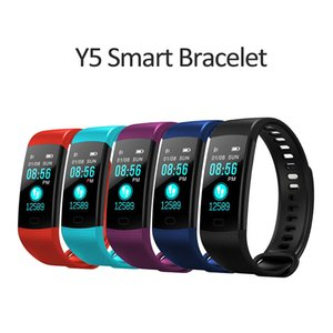 Y5 Smart Watch Bracelet Waterproof Color Screen Wristband Heart Rate Activity Fitness Tracker Smartband Electronics Bracelet