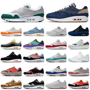 nike air max 1 airmax one 87 Sketch To Shelf Bred maxes 1 Chaussures de course pour hommes Daisy Tokyo Maze Inside Out Script 1s Coupe-vent CNY hommes femmes baskets de sport 36-45