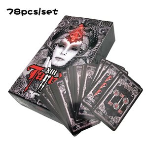 For Fate Deck Tarot Game Card Newest Board Cards Personal Use Game Read 2020 Mysterious Tarot English Guidebook Dark PSKjy car_2010