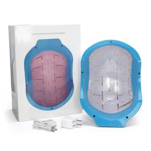 2020 Taşınabilir Low Level Laser Therapy Saç Büyüme Büyütme Bakımı Gençleştirme Kask Cihaz 678nm Diod Cap Anti Saç Dökülmesi Tedavisi Makinesi