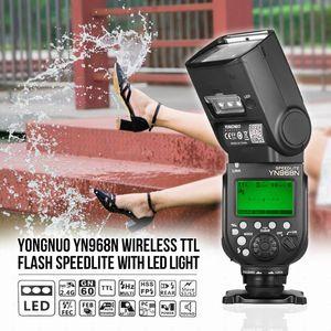YONGNUO YN968N فلاش Speedlite لDSLR متوافق مع YN622N YN560 WirelessL و speedlite 1/8000 مع الصمام الخفيفة