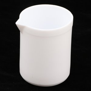 100 - 300ml PTFE Beaker Crucible Cup For Chemistry Biology Lab Labware W  Spout