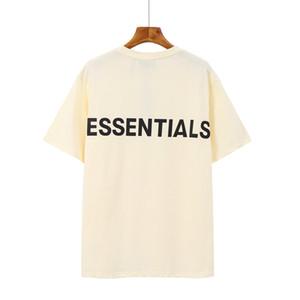 2020 primavera verano 6to miedo a dios sexto colección parche pegatina tee skateboard fresco camiseta niebla hombres mujeres manga corta casual camiseta T08