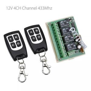 Бытовая техника и электроника 12 4CH Channel 433Mhz Беспроводной пульт дистанционного управления Integrated Circuit С 2 передатчика DIY Замена деталей Комплекты инструментов
