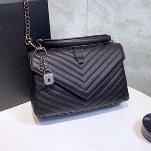 5A + sac à bandoulière de haute qualité de sacs à main sacs à main sac Messenger embosser sac bandoulière womens de 24cm de sacs