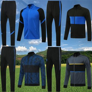 INter LUKAKU LAUTARO Soccer Jackets Tracksuit 2020 21 ALEXIS Training suit SKRINIAR GODIN SENSI BARELLA ERIKSEN football Survetement