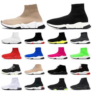 2020 Luxus Designer Socken Schuhe Damen Herren Freizeitschuhe Tripler Vintage étoile Mode Plattform Sneakers Sportschuhe