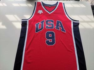 Olympischen Spielen 1984 Michael Jordon USA Jersey MJ Gold Medal Retro Chicago Last Dance