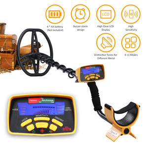 Metal Detectors MD6350 Detector Underground Finder Inductor Gold Treasure Seeker With LCD Sound Adjustment 5 Finding Modes