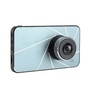 Dash Cam 4 Inch 1080P HD Car Camera DVR Dual Lens Dash Cam Video Recorder 24H Parking Monitor Dashcam G-Sensor Registrator