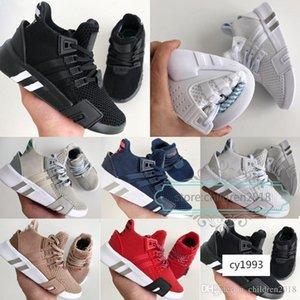 EQT Basketball Adv Kinder 2019 Designer Jungen-Mädchen-Turnschuhe Sub Grün Schwarz Weiß Ash Blau Navy Laufen Kinderschuhe Größe 26-35