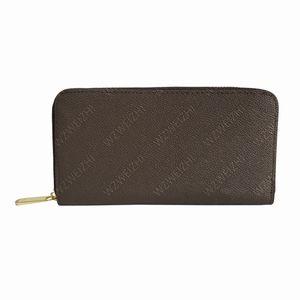 Neueste Männer Frauen lange Mappengeldbeutel-Handtaschen-Pass-Halter Geldbörsen Zippy Schlüsseltasche Handtaschen Ledertaschen