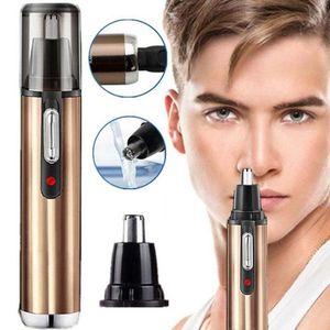 Nose Nose Trimmer eléctrico para los hombres máquina de afeitar recargable pelo Trimmer eliminar el vello de afeitar Clipper portátil de maquillaje de cejas herramienta Shave