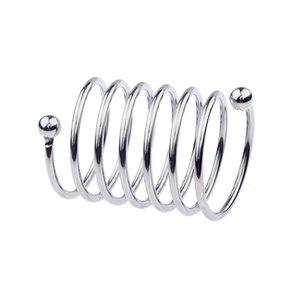 Нержавеющая сталь кольцо пениса Cock Кольца Секс игрушки для мужчин Cockring Задержка эякуляция Мужской Целомудрие Устройство для взрослых Продукты Sex Shop