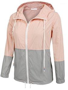 Women Clothing Outdoor Pure Color Patchwork Designer Women Trench Coats Long Lapel Designer Coats Fashion Simple Style