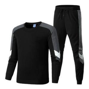 Mens Tracksuits TopsPants Anzüge drei Streifen Letters Druck Herbst-Winter-Männer Pullover Jogginghose Sets Sweatshirts Herren Outfits