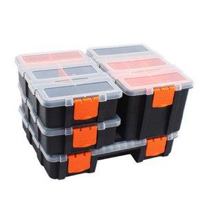 Set Tool Hardware Case Screw Box Parts Plastic Storage Accessories Tool Combined 4pc Box Components Containers Case Transparent lSmrz
