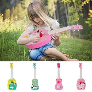 لعبة صك HOT البسيطة للمبتدئين الكلاسيكية آمنة بسيطة القيثارة الغيتار حفل 4 سلاسل للتربية الموسيقية لبيع الهدايا للأطفال