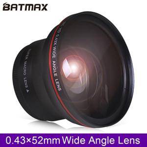 52MM 0.43x Batmax المهنية HD عدسة واسعة الزاوية (ث / جزء ماكرو) لنيكون D7100 D7000 D5500 D5300 D5200 D5100 D3300 D3200 D3