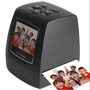 """네거티브 필름 스캐너 10V-240V 35 / 135mm 슬라이드 필름 변환기 포토 스캐너 디지털 컨버터 2.4 """"LCD"""
