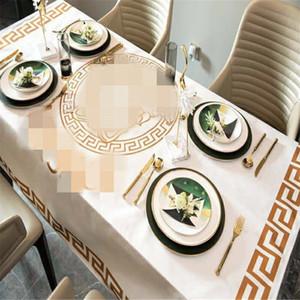 Hızlı Yeni Euramerica Stil Masa Örtüsü Su geçirmez Kalın Yüksek Kalite Masa Örtüsü Ins Stil Ev Sehpa Giyim Gemi