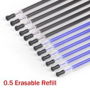 Нейтральная Bx04 руб Трение Легко Student Supplies Производители 50 Refills 100шт Pen Оптовая пуля стираемая Refills Школа HVkPz