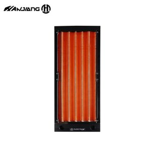 240MM 17mm Thick Copper Radiator For A4 Case,Small Case Watercooler Build Dual 120MM Heat Sink G1 4,Seller Recommend