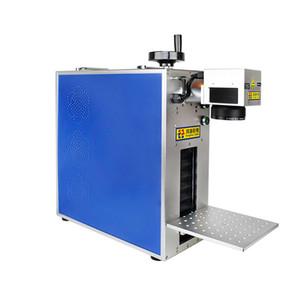 20W Portable Bureau fibre laser Machine de fabrication de gravure de métal pour téléphone LCD séparé Cadre rognent verre Couvercle séparateur