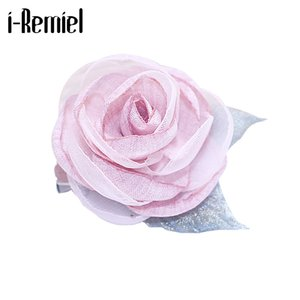 i-Remiel Cloth Art Lapel Decoration Badge Scarf Brooch Shawl Fabric Flower Pin Collar Shirt Coat's Pins Suit Woman Handmade