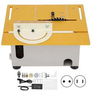 DIY Multifunctional Woodworking Mini Table Saw Desktop Bench Saw Cutting Tool AC110V-220V 96W