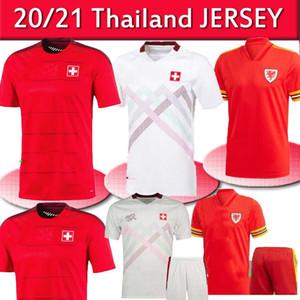 2020 Pays de Galles maillots de football européen Coupe 20 21 BALE ALLEN Suisse Camiseta de Fútbol émbolo SEFEROVIC RODRIGUEZ maillots de football-4XL
