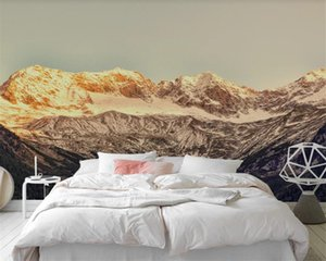 3d Wallpaper for Bedroom Beautiful dreamy colorful forest woods Romantic Scenery Decorative Silk 3d Mural Wallpaper