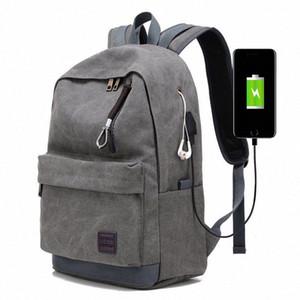 Мужского Бизнес Labtop Плечи сумка пакет Многофункциональный USB зарядка Рюкзак Рюкзак Мужского отдых и путешествия Рюкзак Сумки tsLG #