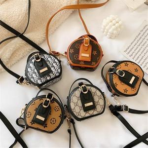 diseño alfabético clásico de nylon bolsa de mensajero del bolso de la moda ronda diseñador de los niños del bolso del Todo-fósforo del bolso de hombro de los niños