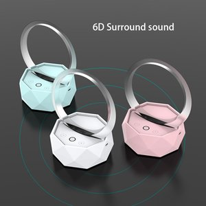 Smart Home Bluetooth Speaker Mobile Computer Universal Rechargeable Portable Audio Wireless Colorful Night Light Small Speaker