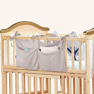 Diaper Hanging Bedding Bag Newborn Baby Multi-Function Crib Baby Storage Infant Organizer Pocket Bag Toy Diaper Set Uogss