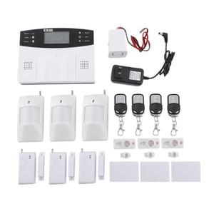Alarme sem fio GSM Home Security Detector System Sensor chamada Tela LCD Inteligente Porta Auto Alarm System
