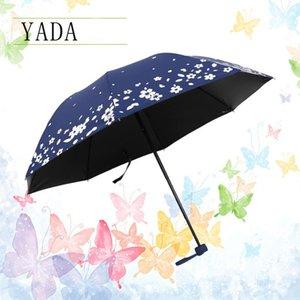 물 여자 우산 매직 후 우산 접는 비 색 꽃 비오는 야다 우산 Ys631이 높음을위한 품질 OrWUC 변경