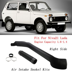 Auto Snokel Kits Right Side Air Intake LLDPE Snorkel Kit For Niva21 Lada Niva Engine Capacity 1.6 1.4 Accessories Car Styling