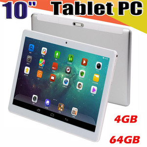 """High quality 10 inch MTK6580 2.5D glasss IPS capacitive touch screen dual sim 3G GPS tablet pc 10"""" Android 6.0 Octa Core 4GB 64GB Free Ship"""