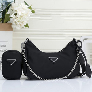 Designer Fanny Pack For Men Luxury Waist Bag For Women Ladies Bumbag Brand Fannypack 2 Set Tide 202009171X