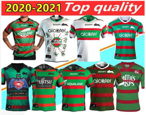 20 201 New South Sydney Rabbitohs ANZAC Indigenous Rugby Jersey 2020NRL Rugby League Trikots Shorts Australien maillot de Rugby-Shirt